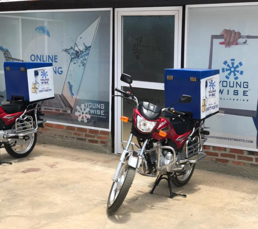 Head Office  Awoshie Water Works (delivery motors)